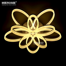 New arrival LED Chandelier Light Fixture Modern Oval Ring LED Lamp for Living room Lamparas de techo Lighting for Dining Home стоимость