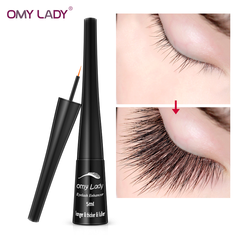 8b360549128 OMYLADY Vitamin E Eyelash Growth Serum 7 Day Eyelash Enhancer Longer Fuller Thicker  Lashes Eyelashes Eyebrows Enhancer Eye Care ~ Best Seller July 2019