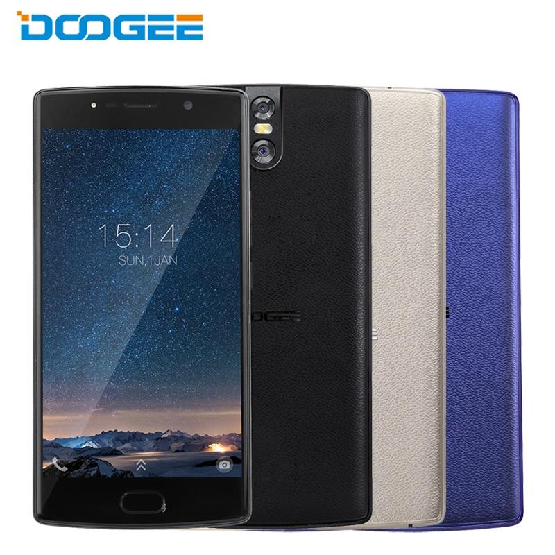 Téléphone portable d'origine DOOGEE BL7000 5.5 pouces 4 GB RAM 64 GB ROM MTK6750T Octa Core Android 7.0 double 13.0MP caméra 7060 mAh Smartphone