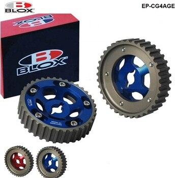 Blox 2 stücke Rutsche Einstellbare Cam Getriebe Pulley Cam Pulley Set Für Toyota Alle Modelle 84-89 4AGE Einlass und Auspuff EP-CG4AGE