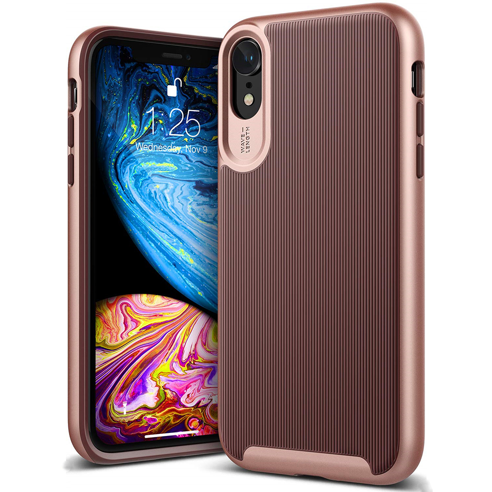 For IPhone XR X XS Xs Max 6 6s 7 8 Plus Case, Slim Hybrid PC & Silicone Dual-Layer Case For IPhone XR XS X