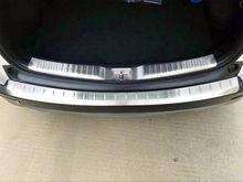 Outer + Inner Rear Bumper Sill Protector trims 2pcs For Honda CR-V CRV 2017 2018