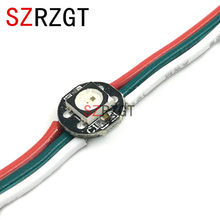 Addressable WS2812B pixel Ring 1 LEDs WS2812 SK6812 5050 RGB LED Ring WS2811 ic Built-in RGB DC5V(China)
