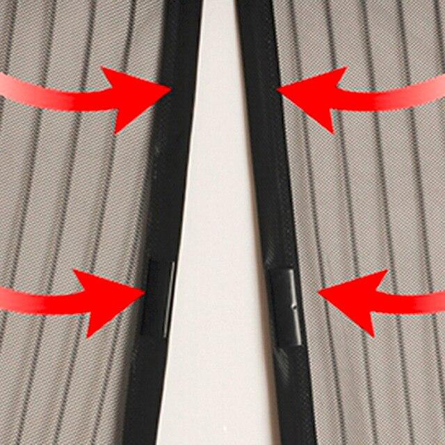1 pc Porta Malha Cortina Mosquiteiro Ímãs Sandfly Compensação com Ímãs na Tela De Malha Porta Inseto Ímãs 5 tamanhos