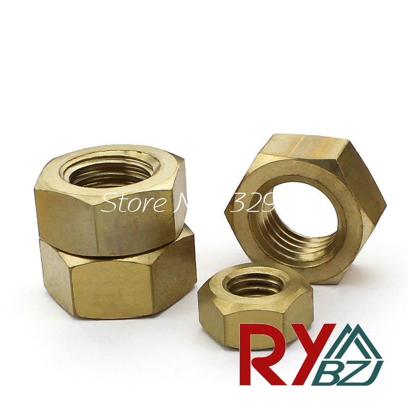 Brass hex nut Brass nut M2 M2.5 M3 M4 M5 M6 M8 M10 M12 M14 M16 M18 M20 Metric Thread m1 m1 2 m1 6 m2 m2 5 m3 m4 m5 m6 m8 m10 m12 m14 m16 m18 m20 hex nut micro small nuts stainless steel din934