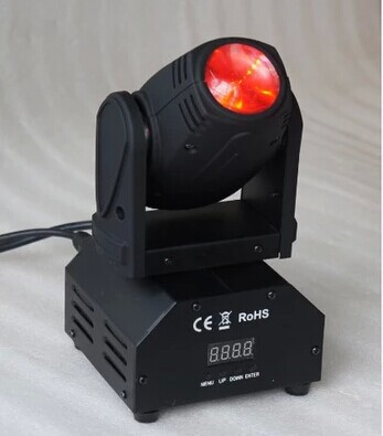 single head led stage light with 10w RGBW LED moving head beam light CREE led lamp moving head light beam moving disco light