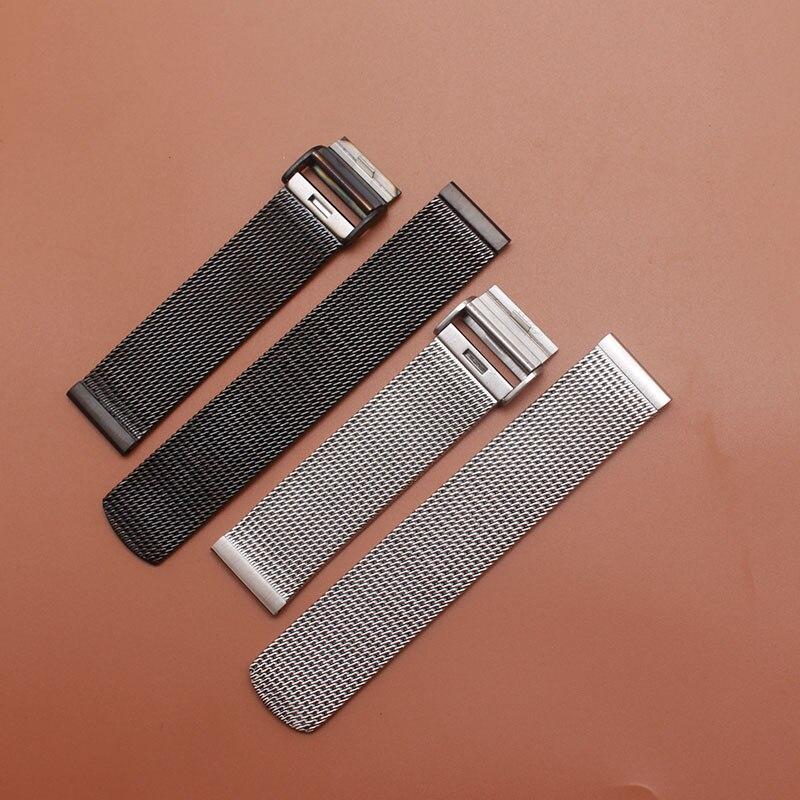 где купить Fashion Stainless Steel Bracelet Strap Watch Mesh watchbands Replacement Band 18 20 21 22mm good quality 2017 fit gear S2 S3 new по лучшей цене