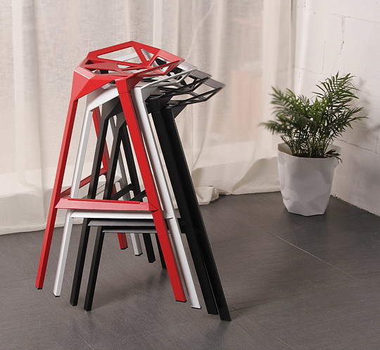 Modern Design Popular Aluminum Metal Bar Stool Side Stool Bar Chair Cafe Loft bar furniture High nice kitchen room counter stool цена