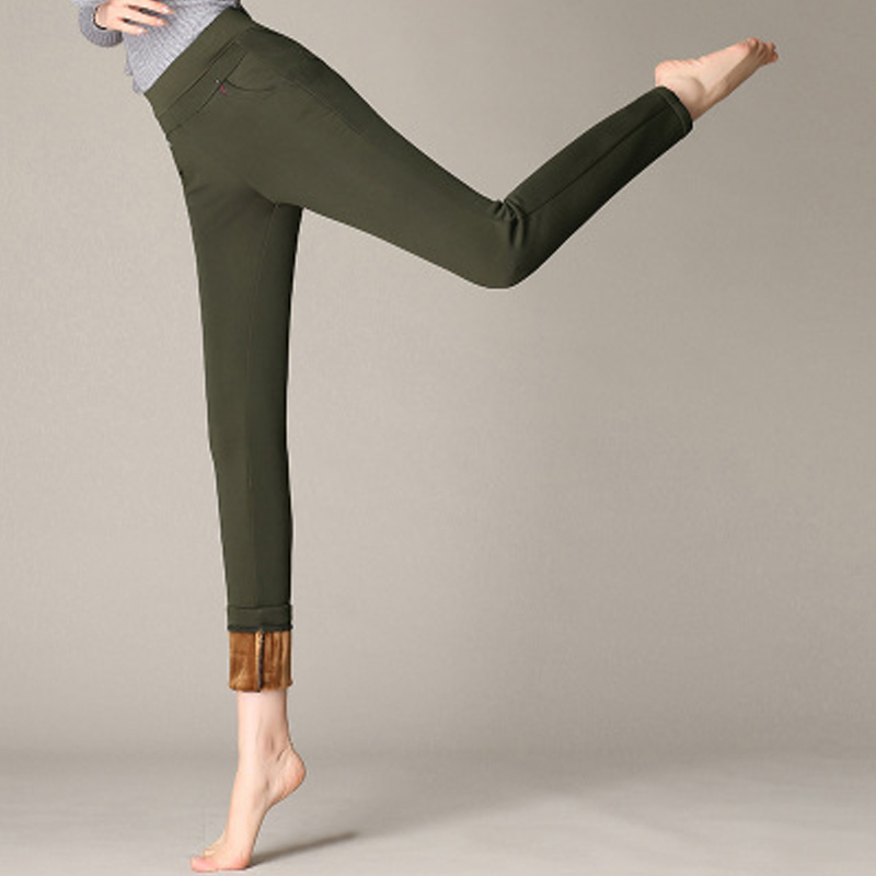 2019 Winter European Style Women Trousers Women's Pants