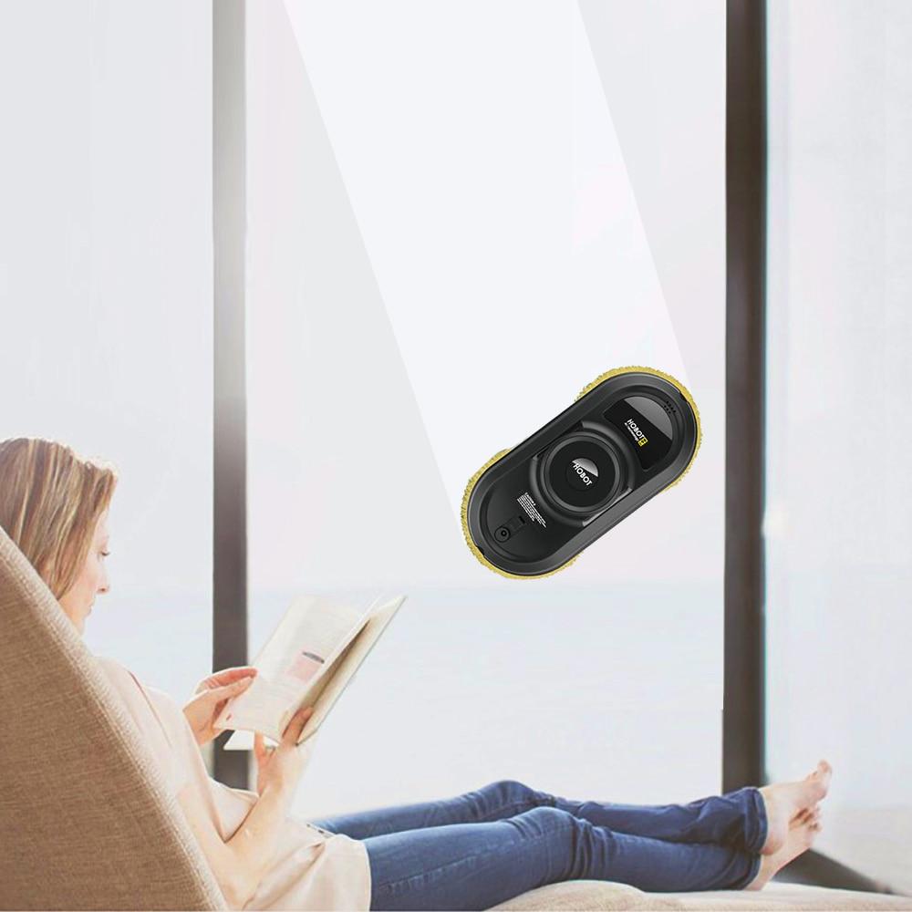 HOBOT Fenêtre aspirateur Intelligent télécommande Automatique Fenêtre robot de nettoyage 5600 Pa Aspiration télécommande Humide Essuyage - 6