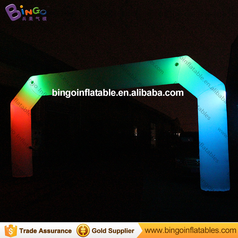 Newest Design 26ft Wide * 13ft High Inflatable LED Lighting Arch Inflatable Archways with Free Blower for hot sale outdoor toyNewest Design 26ft Wide * 13ft High Inflatable LED Lighting Arch Inflatable Archways with Free Blower for hot sale outdoor toy
