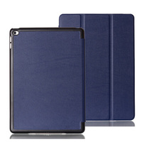 New Fashion Magnetic Tri Fold Folio Stand Custer Leather Case Sleep Smart Sleeve Cover For Apple