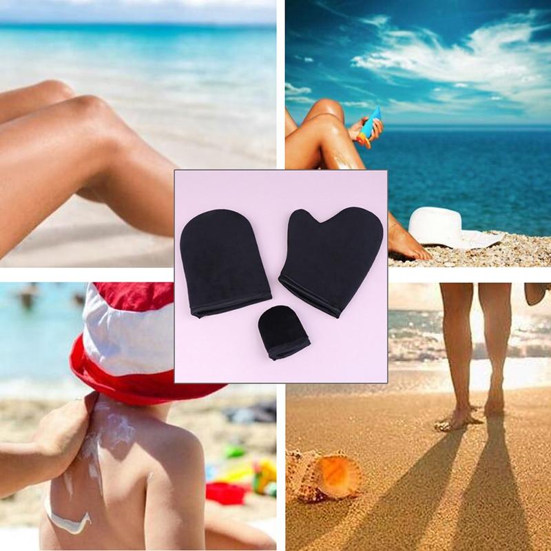 Smart Reusable Body Self Tan Applicator Tanning Gloves Cream Lotion Mousse Glove Self Tanner @me88 Cheap Sales 50% Makeup