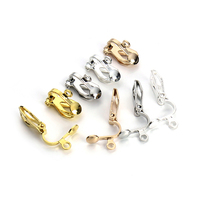 Best Quality Silver Gold Earring Hooks Ear Clip Clasp Accessories For Jewelry Making Parts Jewelry Earwire
