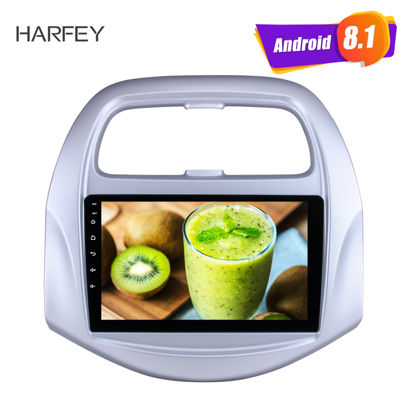 Harfey 9 inch Android 8 1 HD Touchscreen for Chevy Chevrolet SPARK 2018 Buetooth GPS Navi
