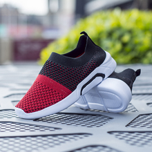 ULKNN Children Shoes For Boys Sneakers Girls Casual Shoes Kids Sock Shoes Mix Color Slip-on Breathable Outdoor Footwear