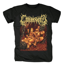 Bloodhoof CEPHALOTRIPSY Inserimento Death Metal di cotone nero T Shirt: Formato Asiatico