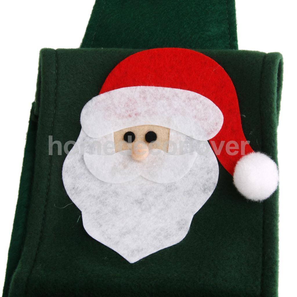 Santa Claus RESERVE TOILET PAPER HOLDER Hanging Tissue Roll Paper Storage