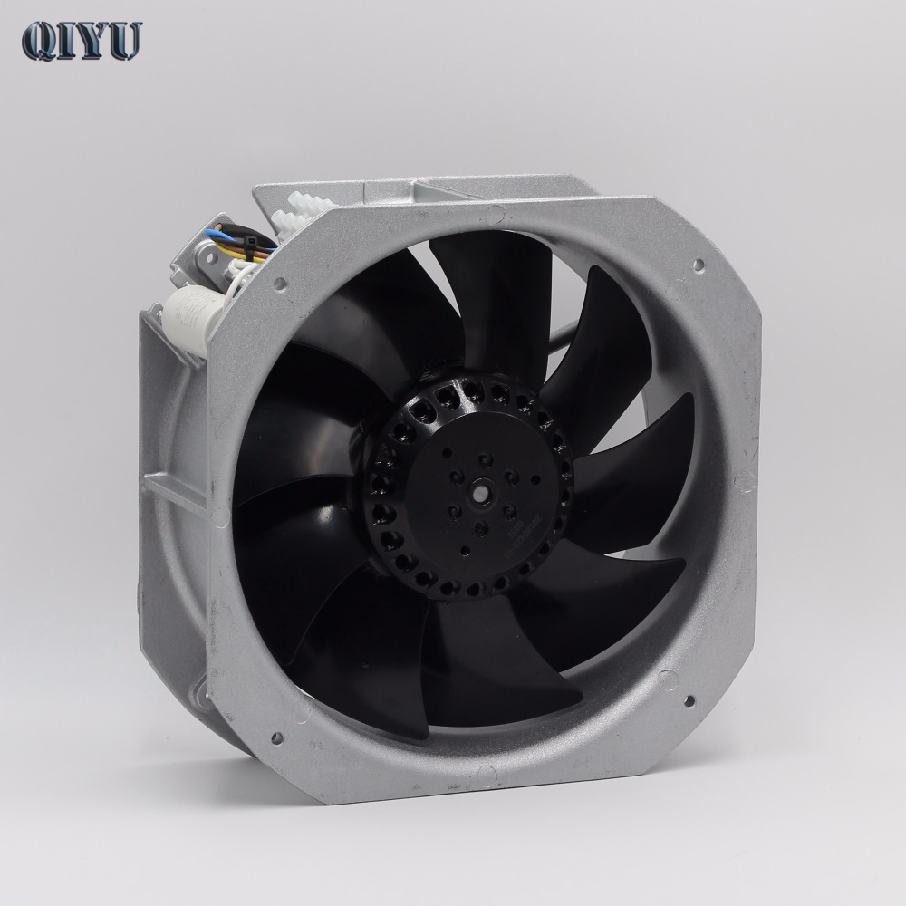 AC 220V AC 240V Axial Fan 22580 air blower Ventilation cooling fan Industrial fan Exhaust heat dissipation Welding metal blades f2e 150b 230 axial cooling fan ac 220v 240v 0 22a 38w 2600rpm 17250 17cm 172 150 50mm 2 wires 50 60hz