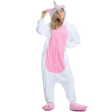Women's Cartoon Unicorn Hooded Pajama