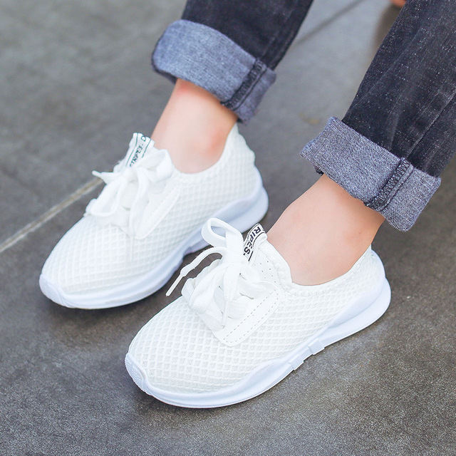 2018 Hot Sale Children's Shoes Spring Autumn Boys Girls Fashion Comfortable Breathable High-quality Anti-slip Kid Sport Shoes 5
