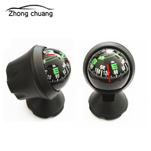 Car Guide Ball Compass Decoration Practical Two Easy to Use Mini Flexible Navigation Dashb