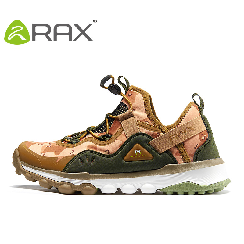 RAX Brand Men Women Hiking Shoes Outdoor walking sneakers Man Breathable antiskid Climbing Trekking Shoes Woman 60-5C345