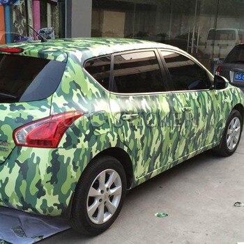 1.52*5/10/15/20/25/30m Hot-sale Camo Wrap Camouflage Vinyl Car Color Transform Sticker Foil Sheet With Air Channel