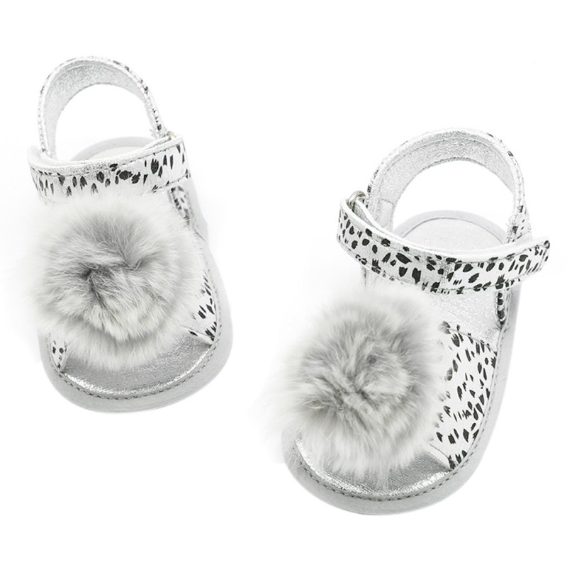 Baby Shoes Newborn Baby Shoes First Walkers Shoes Leopard Baby Girl PU Fashion Princess Shoes