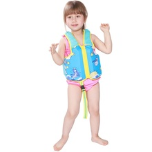 2018 милые дети спасательный жилет детей zwembest для детей цветок с принтом акулы спасательный жилет каяк бассейн пляж одежда заплыва ребенок Lifesaver