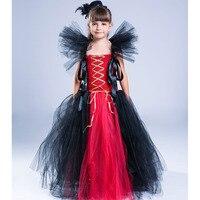 Froze Princess Queen Ball Grown Kids Girls Party Halloween Cosplay Fancy Dress Christmas Carnival Baptism Christening