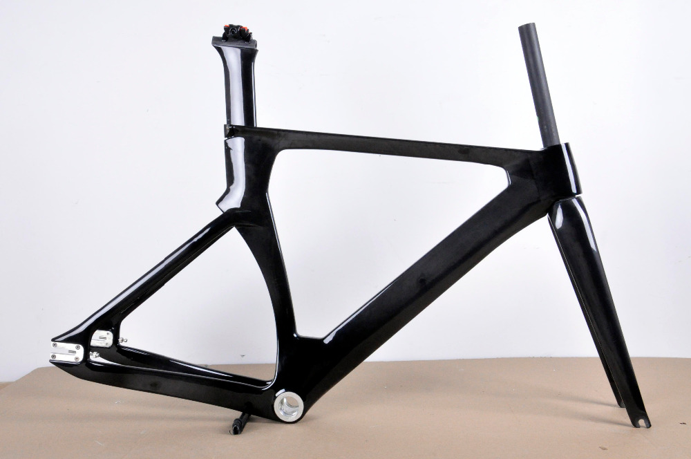 100 full carbon track bicycle frameset high end carbon track frames chinese cheap track bike frame 49cm size for women