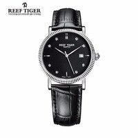 جديد 2017 نمر الشعاب/rt الساعات مصمم الساعات صدأ حالة الأعمال الساعات مع تاريخ الرجال التلقائية مع الماس علامات RGA163