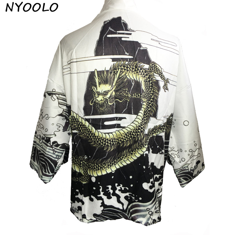 HTB1F1EnRXXXXXXtXpXXq6xXFXXXH - Vintage novelty summer dragon chiffon women clothing