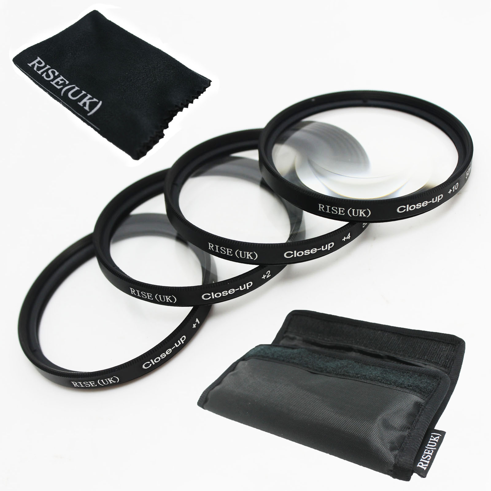 100% GARANTIE 52mm + 1 + 2 + 4 + 10 Close Up LENS Filter kit MACRO Close-Up pour canon nikon sony pentax