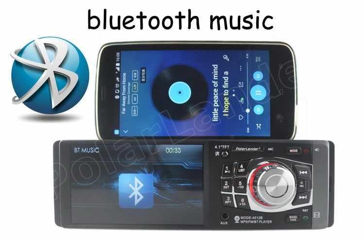 Mobil Radio Mp4 MP5 Player Bluetooth USB TF AUX 1 Din Car Audio Stereo Termasuk Kamera Belakang dengan Roda Kemudi remote Control