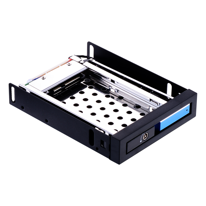 2.5 hard drive case SATA aluminum floppy drive hdd caddy barcket internal box 2TB hard disk rack 2.5in mobile rack цена