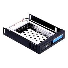 2.5 hard drive case SATA aluminum floppy drive hdd caddy barcket internal box 2TB hard disk rack 2.5in mobile rack