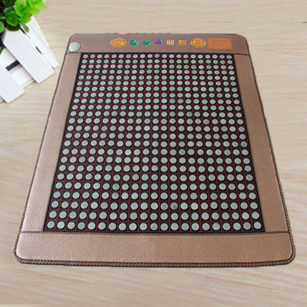 100% Good Jade! Natural Jade Heat Mattress Tourmaline Mat Home Health Care Mat Good Sleep Mat Free Shipping good quality natural jade mat tourmaline heat chair cushion far infrared heat pad health care mat ac220v 45 45cm free shipping