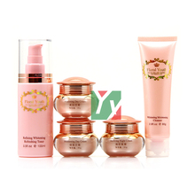 2012 New Product Floral Youth Skin Care Cream Set whitening day and night cream 5 in1