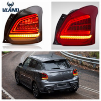 VLAND manufacturer for Car Assembly light for Swift LED Taillight 2017 UP for Swift Full LED Tail lamp with moving turn signal