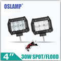 Oslamp 30W 4inch 5D CREE  chips Flood/Spot LED Work Light 12V 24V 6000K Led Auto Lamp Car SUV ATV RZR Wagon Camper Driving Light
