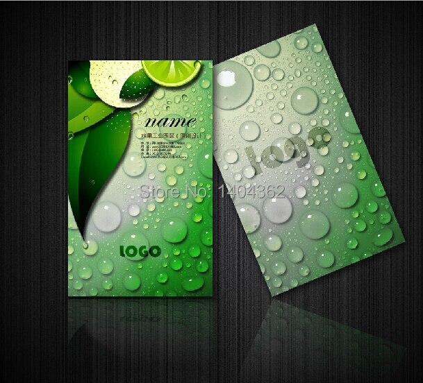 300gsm Gecoat Papier Twee Side Afdrukken Gratis Ontwerp, Prachtige Visitekaartjes Afdrukken Hoge Kwaliteit Naam CardNO.1004