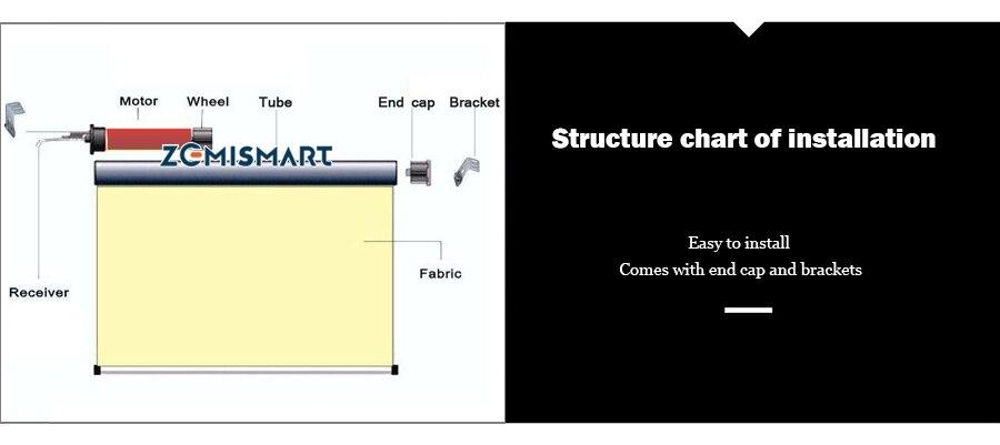 persianas controle pelo interruptor terno para 110 v a 240 v