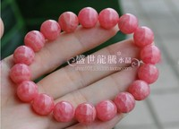 free shipping Ice species rhodochrosite bracelet natural crystal red lines bracelet peach blossom