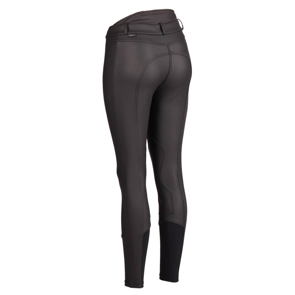Image 2 - Women Horse Riding Pants Equestrian Breeches Sports Legging Ladies Knee Patch Jodphurs Riding Pant-in Breeches from Sports & Entertainment