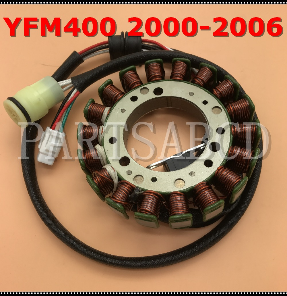 Partsabcd Stator Magneto For Yamaha Atv Kodiak 400 Yfm400 Generator Ignition Wiring 2000 2006 In Parts Accessories From Automobiles Motorcycles On