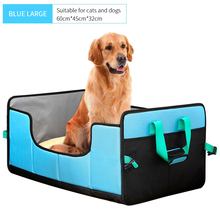 Folding Carrying Handbag Dog Beds Cat mat Washable Puppy Cats Large Dogs House Kennel Mat puppy pet Outdoor travel ATY-0167