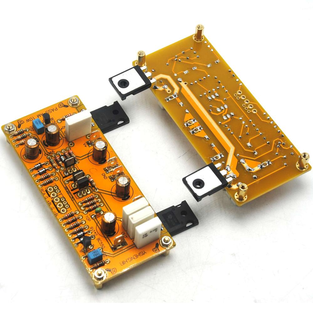 Image 4 - One Pair PASS AM single end Class A Amplifier Board Pre amp 10W 8ohms DC 18V 0V 18V-in Amplifier from Consumer Electronics