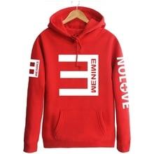 Streetwear Moletom Sweatshirts Men Alan Walker Loose Hoodies Eminem RAP Music Hip Hop Men and Women Lil peep Pullover